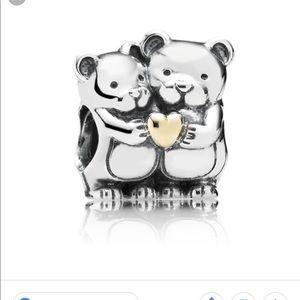 Hugging Bears Pandora Charm